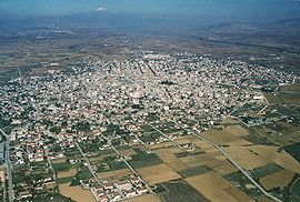 Aerial view of Ptolemaida.