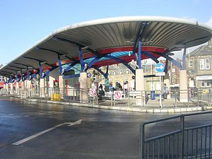 Pudsey's New Bus Station - looking towards Church Lane - geograph.org.uk - 2253723.jpg