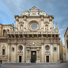 Image illustrative de l'article Basilique Santa Croce (Lecce)