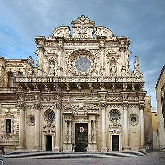 Basilica di Santa Croce (Lecce) - Exterior