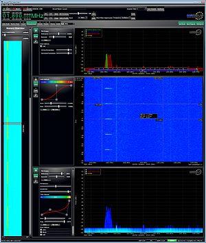 Pulse duration - DECT phone pulduration measurement (100Hz / 10mS) on chanel 8