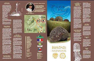 Puna Pau - Image: Puna Pau brochure 1