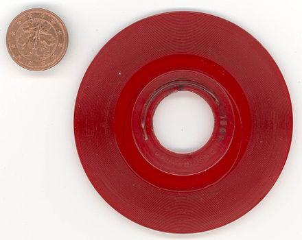 bestimmen des rillenabstandes einer cd