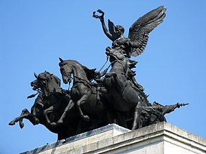 Adrian Jones (sculptor) - The Peace Quadriga