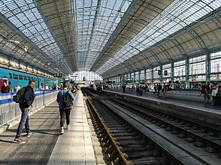 Gare de Bordeaux-Saint-Jean railway station in Bordeaux, France