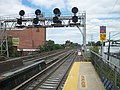 Queens Village Station; Queens Interlocking Tower.JPG