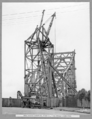 Queensland State Archives 3630 Main bridge erection Stage 3 five panels completed Brisbane 23 March 1938.png