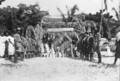 Queensland State Archives 5768 Welcome for Hon J C Peterson Home Secretary Murray Island Torres Strait Island June 1931.png