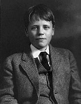 Quentin was as gifted intellectually as his father and sailed through Groton and Harvard - Quentin age 13