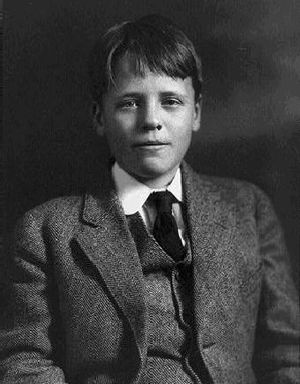 Quentin Roosevelt - Quentin (shown here at age 13) was as gifted intellectually as his father and sailed through Groton and Harvard.