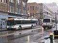 RIPTA route 99 bus in Providence, February 2010.jpg