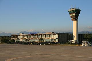 Rijeka Airport International airport in Omišalj, Croatia