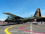 ROCAF C-130H 1312 Display at Hualien Air Force Base Apron 20170923Lb.jpg