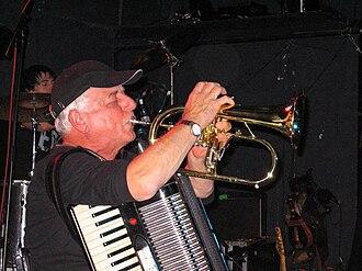 Čechomor - Radek Pobořil, New York, 2006