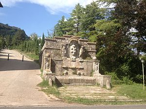 Radicofani - Radicofani Medici's fountain