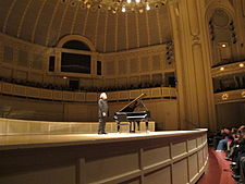 Radu lupu at chicago symphony orchestra.JPG