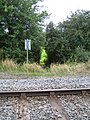 Railway crossing near Doddershall House - geograph.org.uk - 930192.jpg