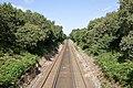 Railway lines seen from Arnewood Bridge Road - geograph.org.uk - 1456681.jpg