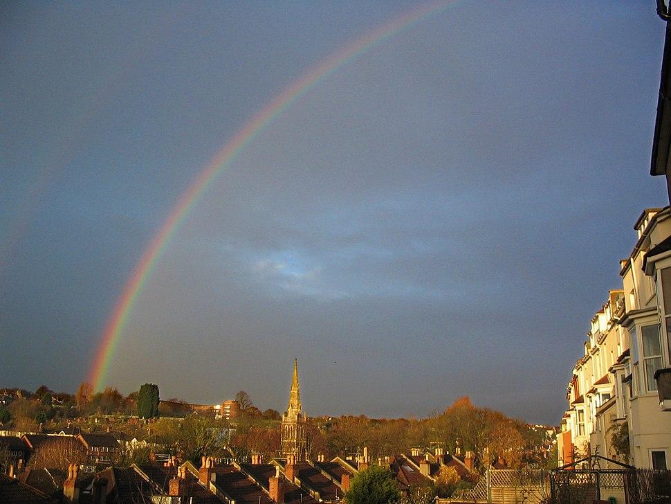 Rainbow over Bristol