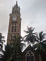 Rajabai Clock Tower from Convocation Hall.jpg