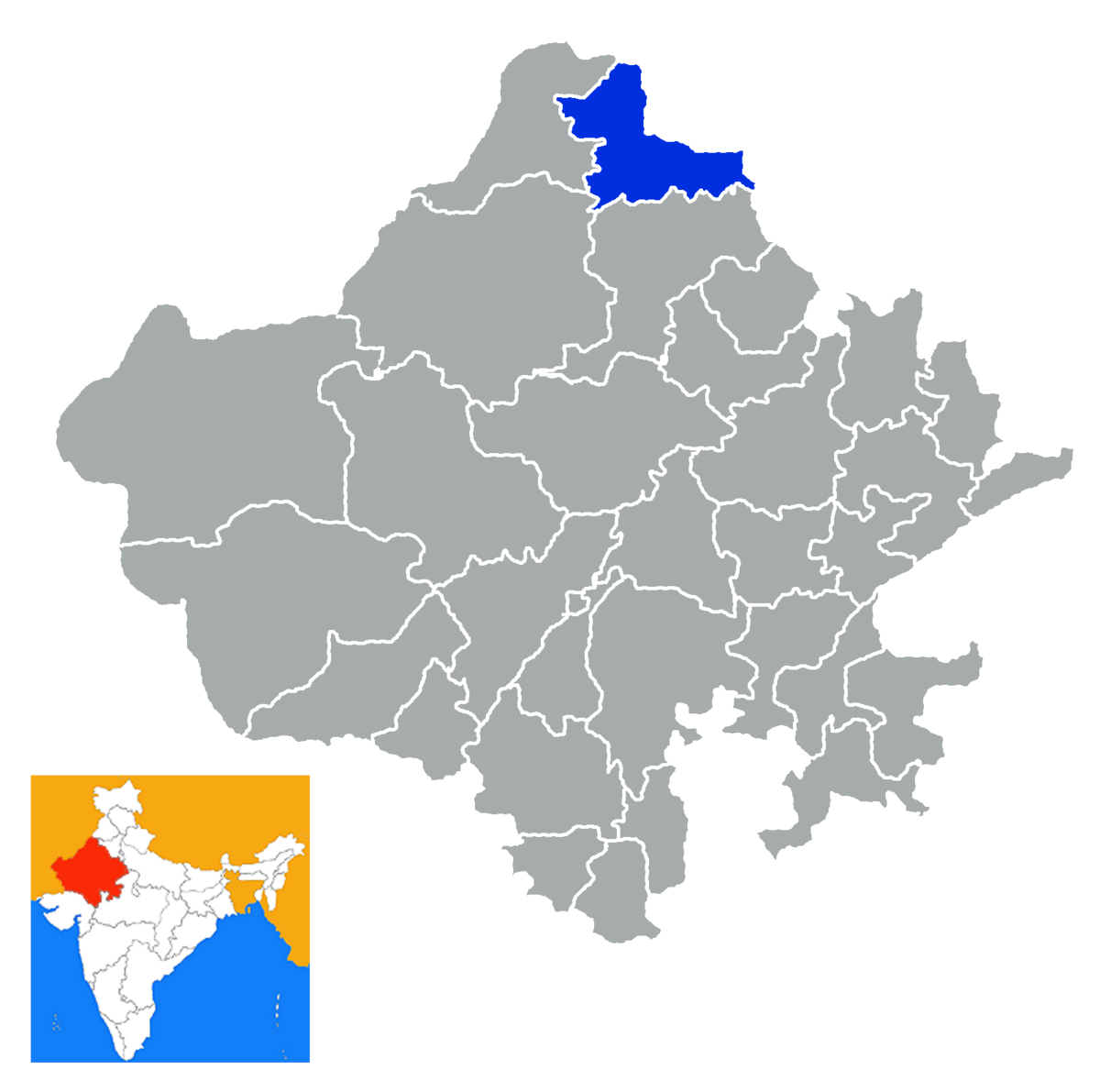 Hanumangarh district - Wikipedia