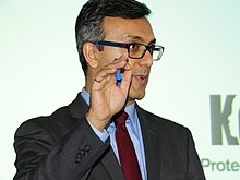 "Rajesh Mirchandani moderating ""Keep Her Safe"" event.jpg"