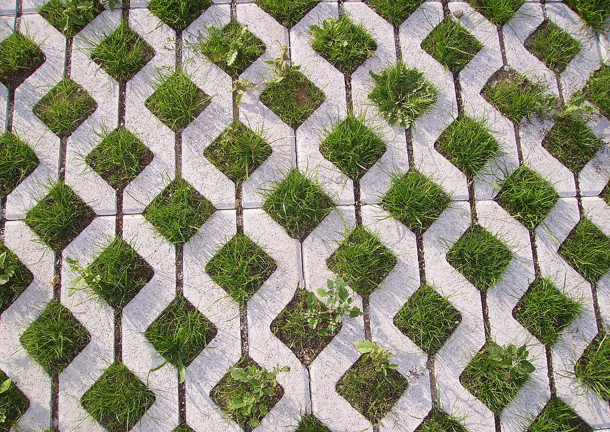 Green parking lots wikipedia for Green pavers