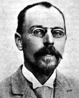Christen C. Raunkiær - Raunkiær in 1896