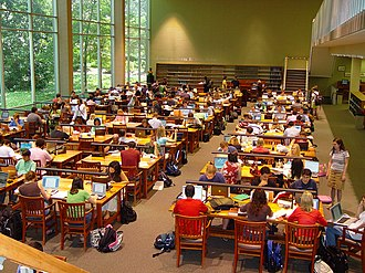 Alexander Campbell King Law Library - Carl E. Sanders Reading Room of the Alexander Campbell King Law Library