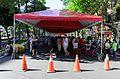 Rear View of Futai Village Ghost Festival Tent 20160814.jpg