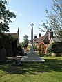 Rear of the war memorial in St Peter's Churchyard - geograph.org.uk - 1477736.jpg