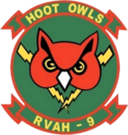 Reconnaissance Heavy Attack Squadron 9 (US Navy) insignia c1975.png