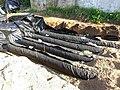 Recouvrement des conduites AES par une couche de 10 cm de sable filtrant ENVIRO))SEPTIC® - Covering the AES pipes with a 10 cm layer of filterable sand ENVIRO))SEPTIC® (10153562293).jpg