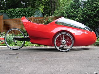 Velomobile enclosed human-powered vehicle