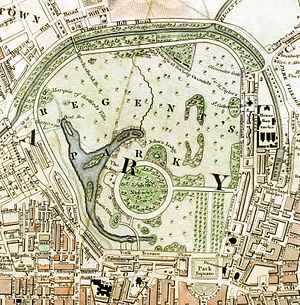 Royal Parks of London - Regent's Park c.1833