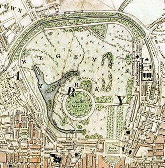 Regent's Park - Regent's Park c.1833