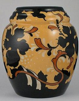 Hedendaags Gouds plateel - Wikipedia HK-14