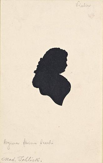 Regina Strinasacchi - Portrait of Regina Strinasacchi
