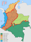 Natural Regions of Colombia