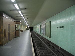 Rehberge (Berlin U-Bahn) - U-Bahn station Rehberge