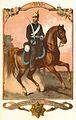 Reiter des Großherzoglich Oldenburgischen Reiter Regiments, 1849. Uniform mit schwarzem Waffenrock..jpg