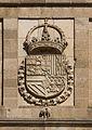 Relief CoA Philip II Spain Facade monastery San Lorenzo de El Escorial Spain.jpg