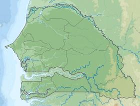 Carte Senegal Cap Vert.Presqu Ile Du Cap Vert Wikipedia