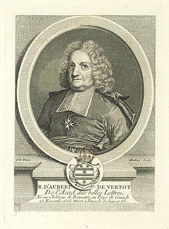 René-Aubert Vertot - Image: René d'Aubert de Vertot Gallica