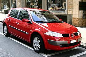 Renault Mégane II (version testar)