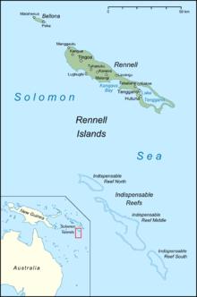 Districts Falkland Island Map