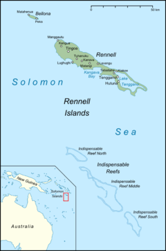 Largest island in the solomon group that starts with g