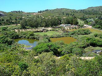 Cerro Pan de Azúcar - The Nature Reserve seen from the hill.