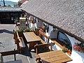 Restaurant. Listed ID 10514. Courtyard. - 19 Kossuth St, Tihany.JPG
