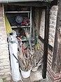 Restaurierung der über 100 Jahre alten Tür zum Plumpsklo, März 2015. - panoramio (9).jpg